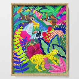 Jungle Party Animals Serving Tray
