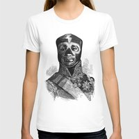 wrestling T-shirts featuring WRESTLING MASK 10 by DIVIDUS