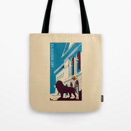 Art Institute Chicago Tote Bag