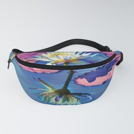 Water Lily In The Pond Fanny Pack
