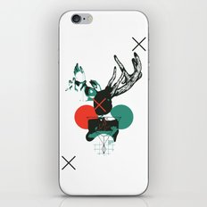 Girl with Horns iPhone & iPod Skin