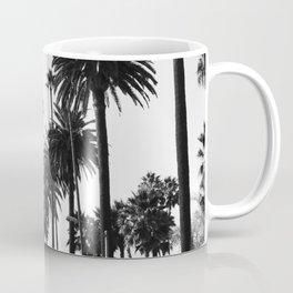 Los Angeles Black and White Coffee Mug