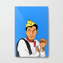 Cantinflas pop art Metal Print