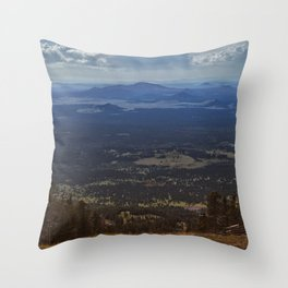 Snowbowl Throw Pillow