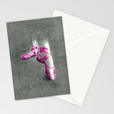 Ballet Shoe Pink Stationery Cards