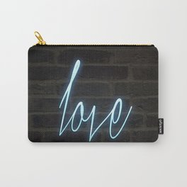 Neon Love Carry-All Pouch