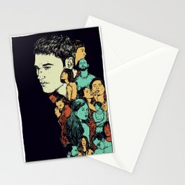 All those beautiful girls and boys Stationery Cards