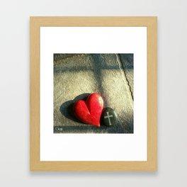 """""""Heart and Soul"""" Framed Art Print"""