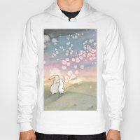fairies Hoodies featuring Sunset Fairies by Bluedogrose