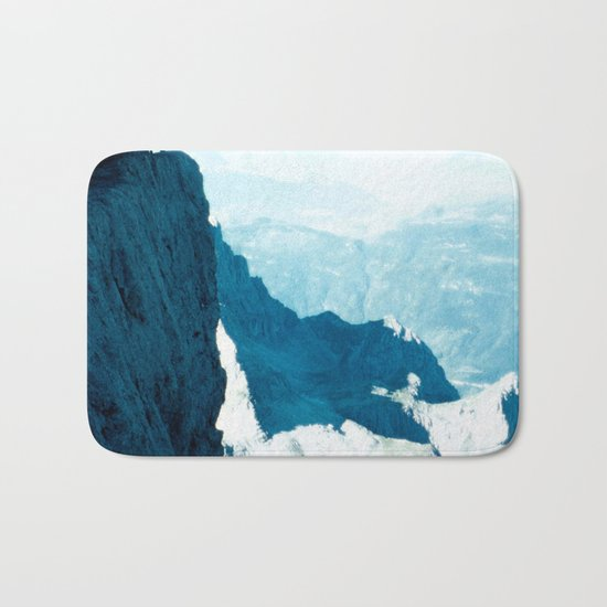 Almost there #Mountain #1 #art #society6 Bath Mat