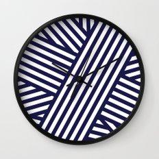 Nautical Bandaids Wall Clock