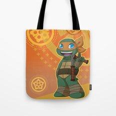 TMNT Chibi Mikey Tote Bag