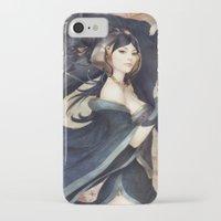 artgerm iPhone & iPod Cases featuring Pepper Empress by Artgerm™