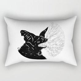 Screech Rectangular Pillow