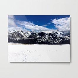 The Rocky Mountains Metal Print