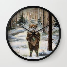 The Gentle Giant Wall Clock