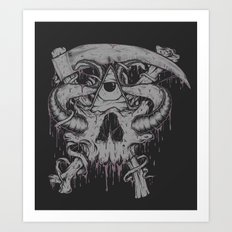 Sickle & Bone  Art Print