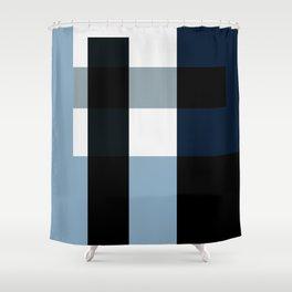 GW Shapes II Shower Curtain