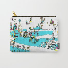 PING PONG SPRING Carry-All Pouch