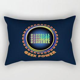Geek Power Rectangular Pillow