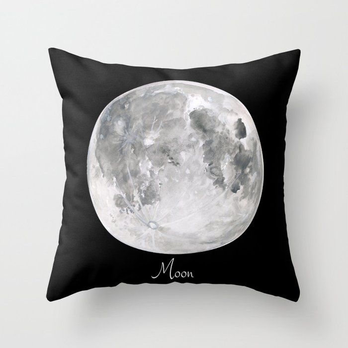 Moon #2 Deko-Kissen