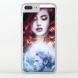 SpellBound Clear iPhone Case
