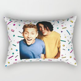 Bodacious dudes Rectangular Pillow