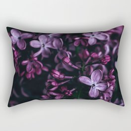 Lilac Flowers Rectangular Pillow