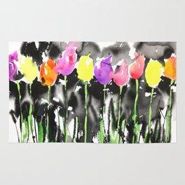 Sumie No.16 Tulips Rug