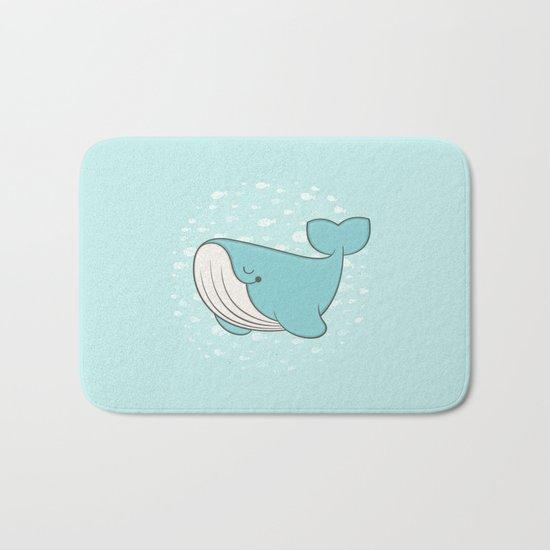 lou, the whale Bath Mat