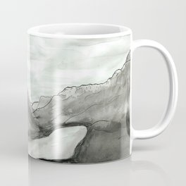 Ink mountains Coffee Mug
