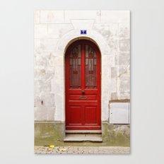 Little Red Door Canvas Print