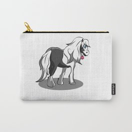 Tinker with flower Horse Pony Riding Cartoon gift Carry-All Pouch