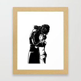 DISHONORED- Stronger When You Hold Her Framed Art Print