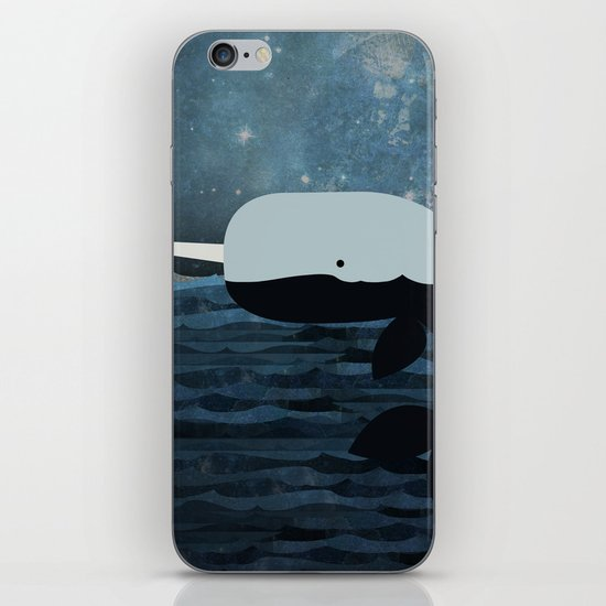Whale Tales iPhone Skin