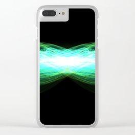 Digital Light Clear iPhone Case