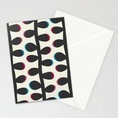 Like a Leaf [black] Stationery Cards