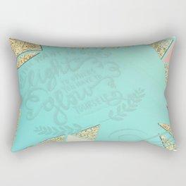 Shine Bright  Rectangular Pillow