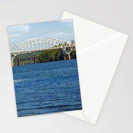 Thomas Hatem Memorial Bridge, Havre de Grace, Maryland, Susquehanna River  Stationery Cards