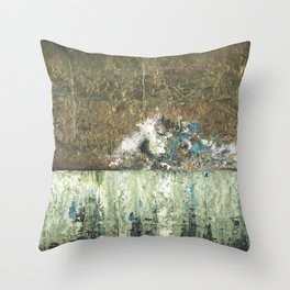 Tarnished Revisited Throw Pillow