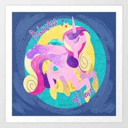 Princess Cadance, Princess of Love Art Print