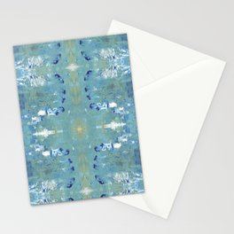 Textures (Blue) Stationery Cards