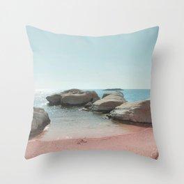 BEACH DAY 41 Throw Pillow