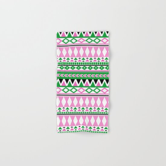 Tribal Pattern 07 Hand & Bath Towel