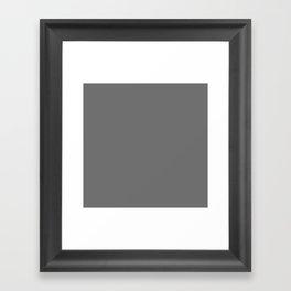 Sulfur just plain Framed Art Print