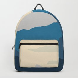 Mountains Landscape Mid Century N21002 Backpack