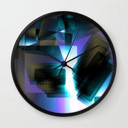 Escarpment Night Wall Clock