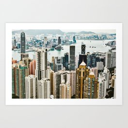 Harbour Section Art Print