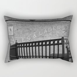 Maumee Bay Ales and Lagers Rectangular Pillow