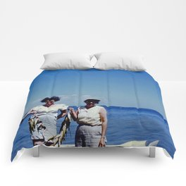 Fishing Ladies Comforters